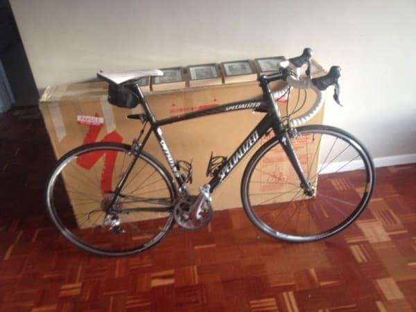男性がオークションに出品した自転車 (画像出典:オークションサイト Gumtree)