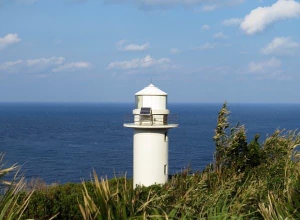絶景ポイント1:大越鼻灯台