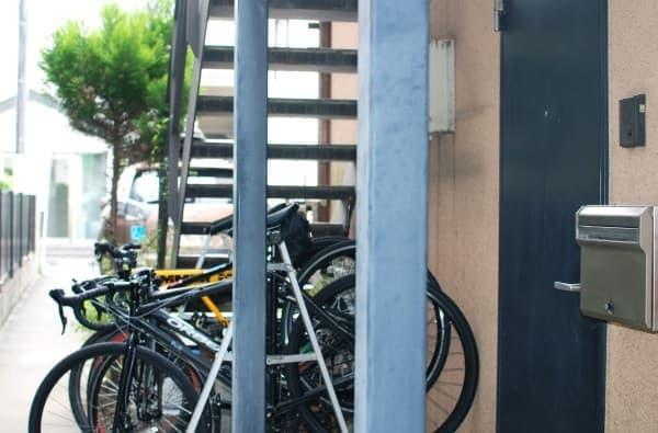 「PEDALRest(ペダレスト)西新宿」入口周辺