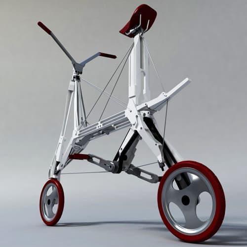 Bike Intermodal が公開した折り畳み自転車のプロトタイプ