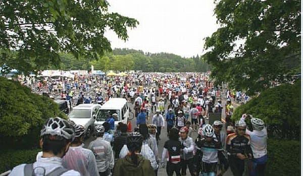 この日と大会当日には、サイクルエキスポが開催される