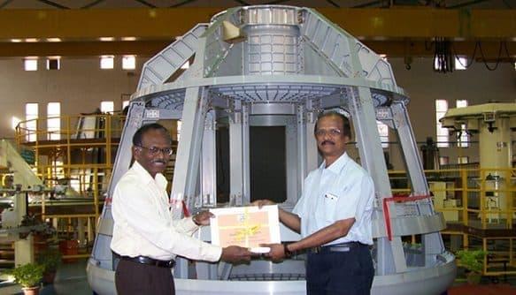 HAL が公開した有人宇宙船の乗員モジュール