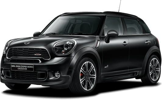 「MINI John Cooper Works Crossover」ベースの「ブラックナイト」