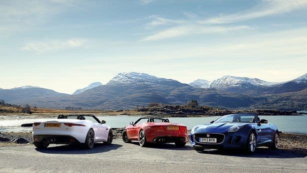 Convertible of the Year : Jaguar F-Type