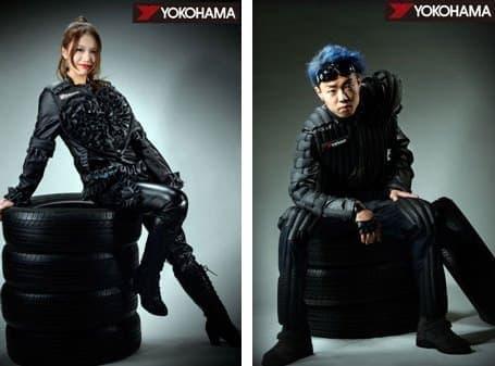 名古屋モード学園生徒によるバイカー用ファッション作品