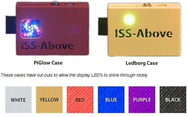 PiGlow バージョンと Ledborg バージョンから選べる