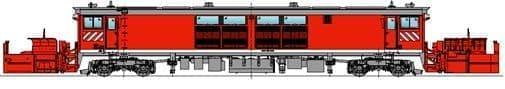新型ラッセル車両(外観図)