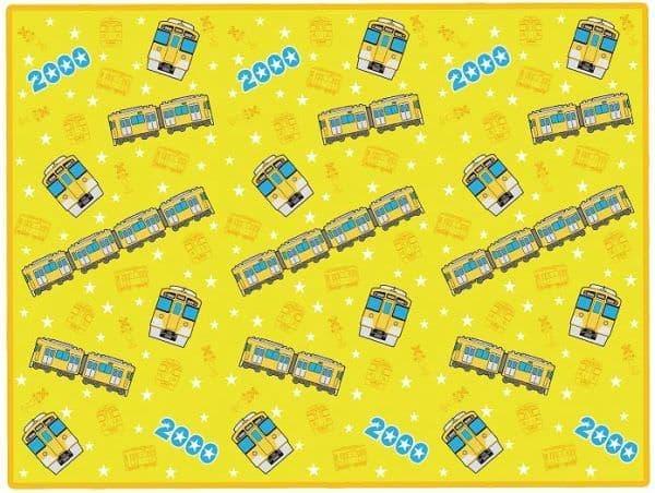 新2000系 黄色い電車オリジナルレジャーシート