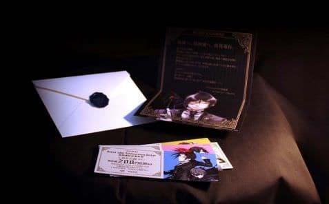 「黒執事」記念乗車券セット  (C)Yana Toboso/SQUARE ENIX