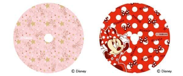 ミニーマウスのデザインも登場!  左:ミニーマウス「ピンク」、右:ミニーマウス「リボン」 (C)Disney