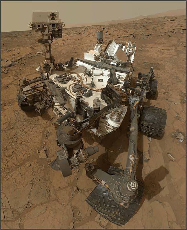 火星探査車「キュリオシティ」
