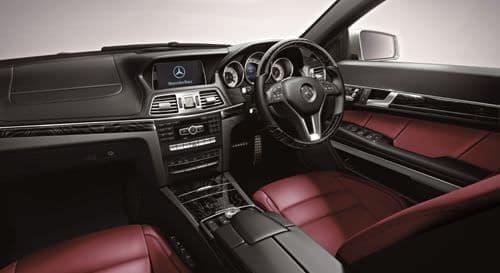 「E 250 Coupe Limited(ポーラーホワイト)」インテリア