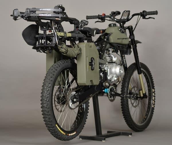 「MOTOPED」のサバイバルエディション「Motopeds Survival Bike」