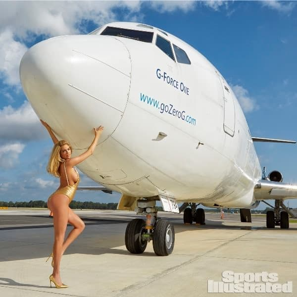 G-FORCE ONE  (Zero Gravity Flight 関連画像出典:Sports Illustrated)