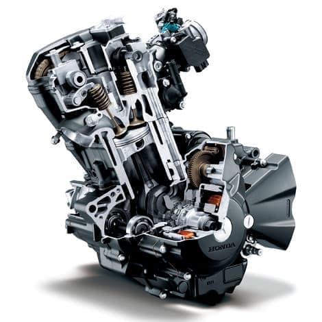 最高出力を高めたエンジン
