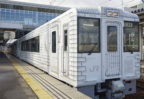 「TOHOKU EMOTION」は、レストラン空間として設計された「東北レストラン鉄道」