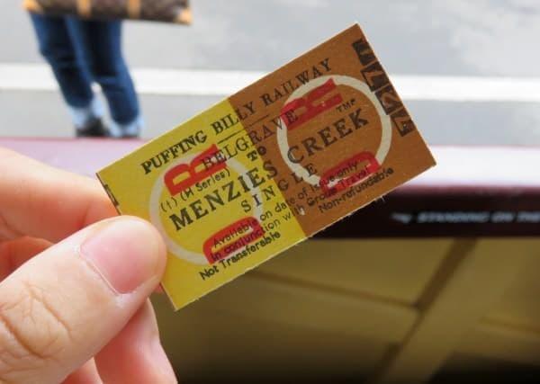 これが切符。かわいい!