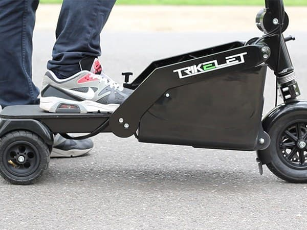 「Trikelet」の最高速度は20キロ