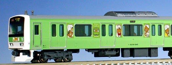 「リラックマ電車」が N ゲージ鉄道模型に!