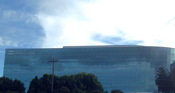 ソフトバンクのシリコンバレー拠点  ハイウェイ101から見える場所にあります