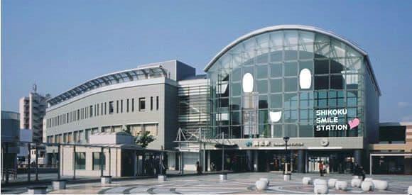 高松駅外装デザイン イメージ