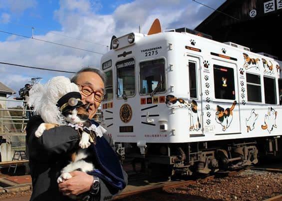 """「たま電車」がより""""猫らしく""""!  [出典:和歌山電鐵]"""