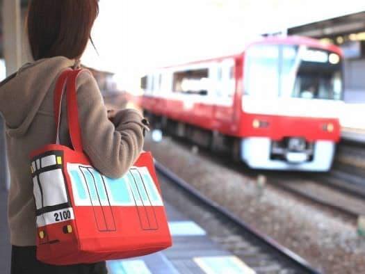 けいきゅう電車型トートバッグ(2100形デザイン)