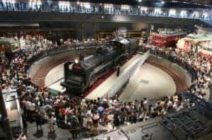 鉄道博物館で楽しいひと時を!