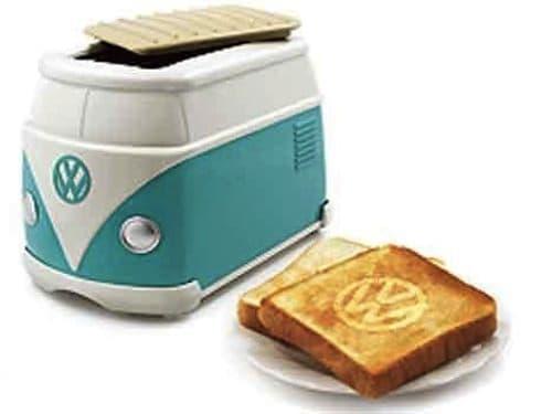 日本のフォルクスワーゲンディーラーが配布していたワーゲンバストースター  たまらん!