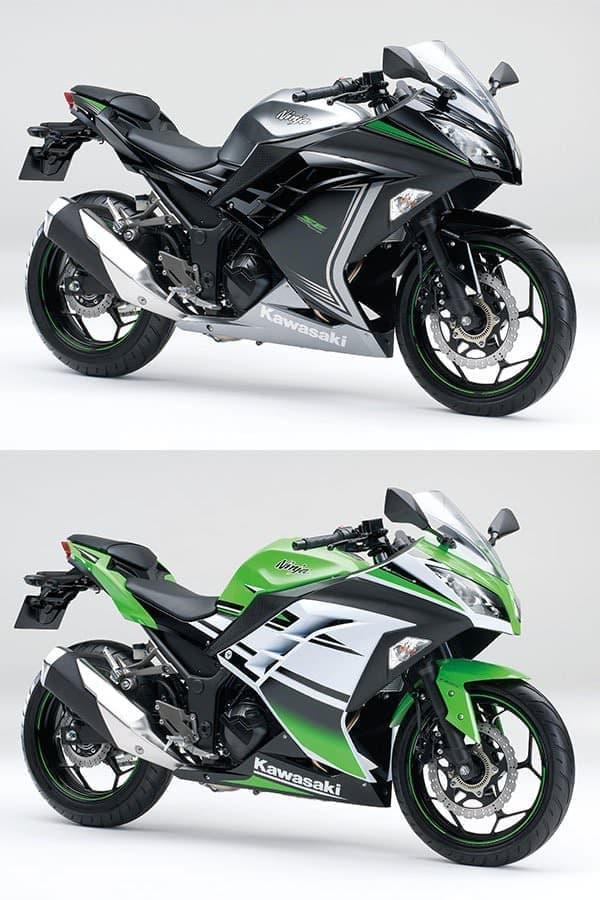 Ninja 250 ABS Special Edition  メタリックムーンダストグレー×エボニー  ライムグリーン×パールスターダストホワイト