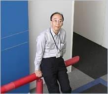 GPM/DPR プロジェクトマージャーの小嶋正弘氏  (出典:JAXA)