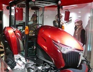 トラクターのコンセプトモデル(出典:ヤンマー)
