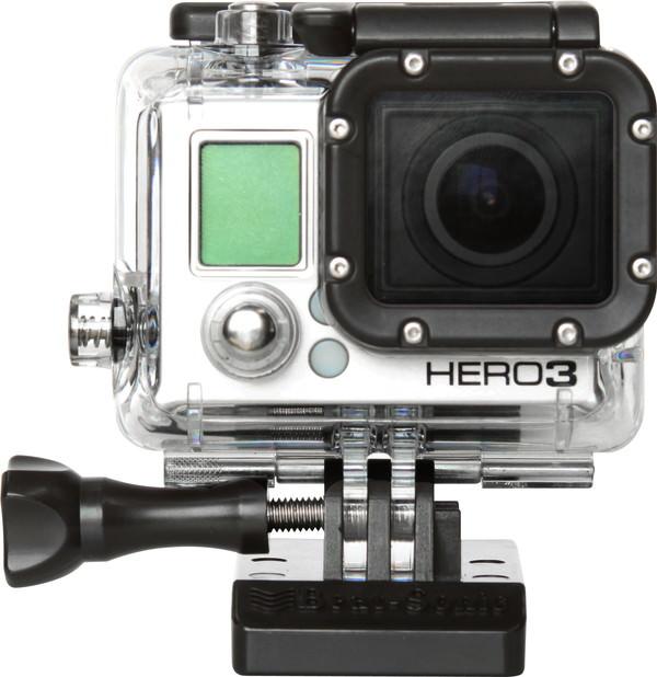 専用アタッチメントと GoPro
