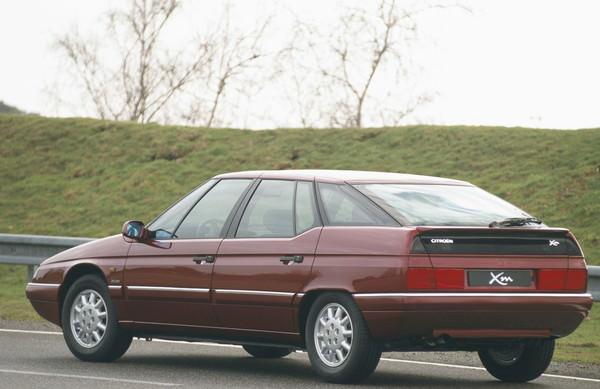 シトロエン XM(1989)、ハイドロサスペンション搭載モデルの1つ