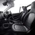 「smart cabrio macchiato」と「smart cabrio espresso」のインテリア