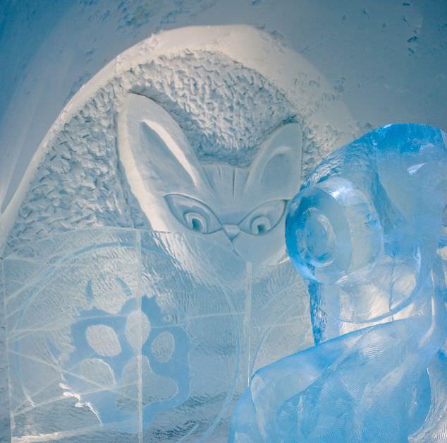 ネコは何を考えているのか?「The Tao of Cat」(C) ICEHOTEL、Asaf Kliger